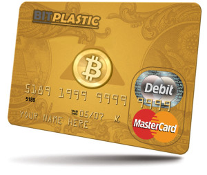 Bitplastic Debit-card